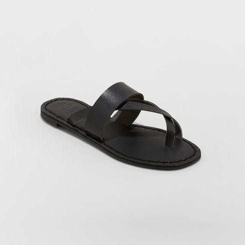 cfa77f532027 Women s Mad Love Kaden Monochromatic Flip Flop Sandals   Target