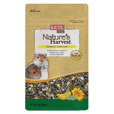 Kaytee Nature's Harvest Hamster & Gerbil Food - 3lb