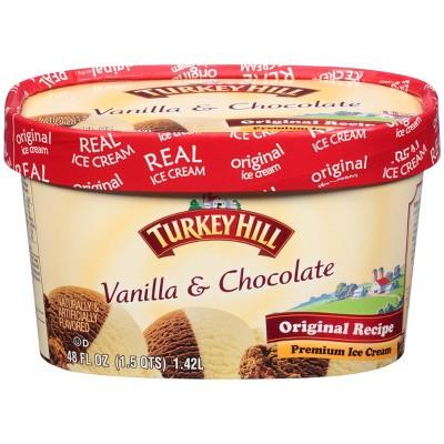 Turkey Hill Vanilla Chocolate Ice Cream - 48oz