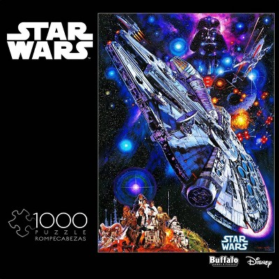 """Buffalo Games Star Wars: """"You're all Clear Kid"""" Jigsaw Puzzle - 1000pc"""
