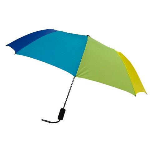 Auto Open Compact Umbrella - Rainbow - image 1 of 1