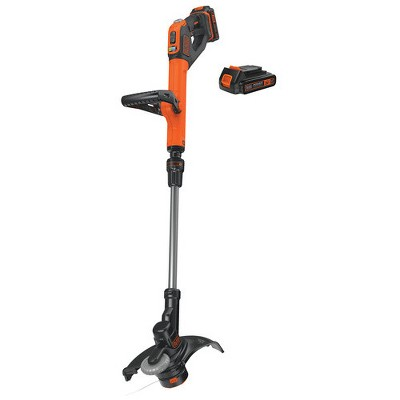 Black & Decker LSTE525 20V MAX 2-Speed EASYFEED Lithium-Ion 12 in. Cordless String Trimmer/ Edger Kit (1.5 Ah)