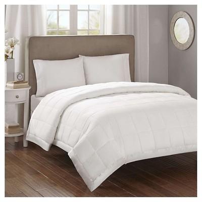 Bed Blanket Parkman Premium Oversized Hypoallergenic Down Alternative with 3M® Scotchgard (Full/Queen)Ivory