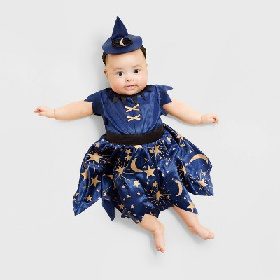 Baby Navy Moonlight Witch Halloween Costume - Hyde & EEK! Boutique™