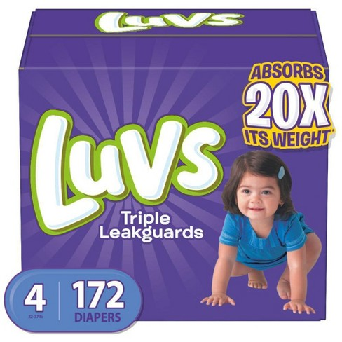 Luvs Disposable Diapers Ginormous Pack - (Select Size) - image 1 of 4
