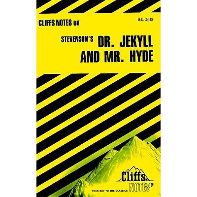 Stevenson's Dr. Jekyll and Mr. Hyde - (Cliffsnotes Literature Guides) by  James L Roberts (Paperback)