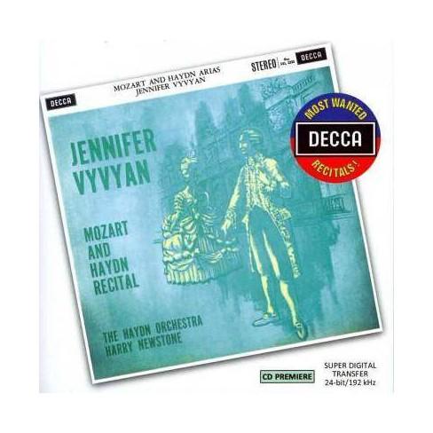 Haydn - Most Wanted Recitals!: Jennifer Vyvyan- Mozart And Haydn Recital (CD) - image 1 of 1