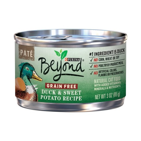 Beyond Grain-Free Pate (Duck & Sweet Potato Recipe) - Wet Cat Food - 3oz - image 1 of 3