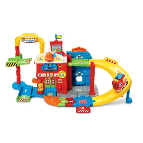 VTech® Go! Go! Smart Wheels Race & Rescue Fire Station - image 1 of 6