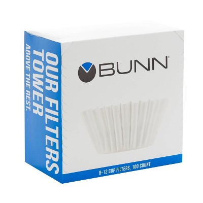 BUNN 8-12 Cup Coffee Filters - 100ct