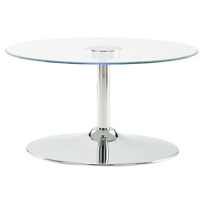 Adelphi LED Cocktail Table Chrome - Inspire Q