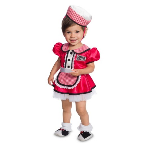 Toddler Diner Halloween Costume 3T-4T - image 1 of 1