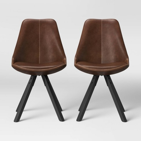 Set of 2 Russel Faux Leather Dining Chair - Project 62™ - image 1 of 4