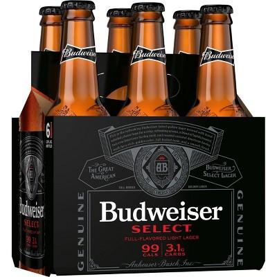 Budweiser Select Beer - 6pk/12 fl oz Bottles