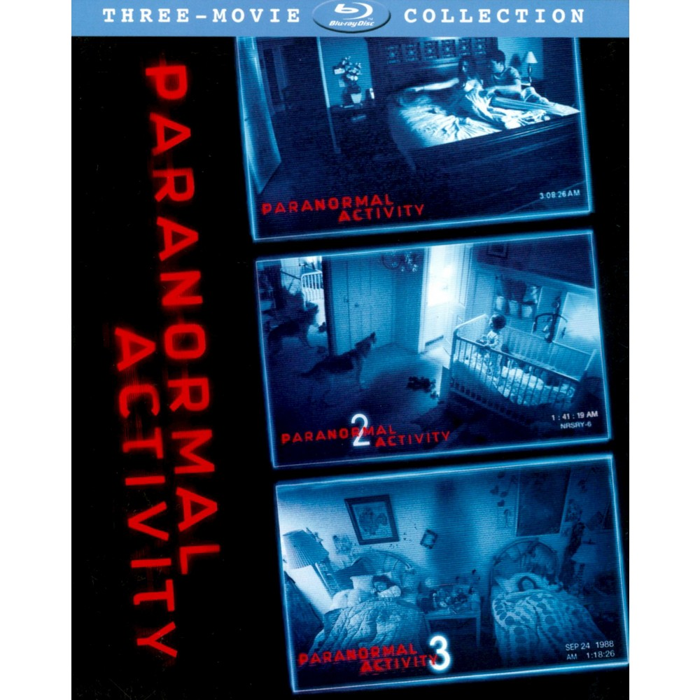Paranormal Activity Trilogy Gift Set (3 Discs) (Blu-ray)