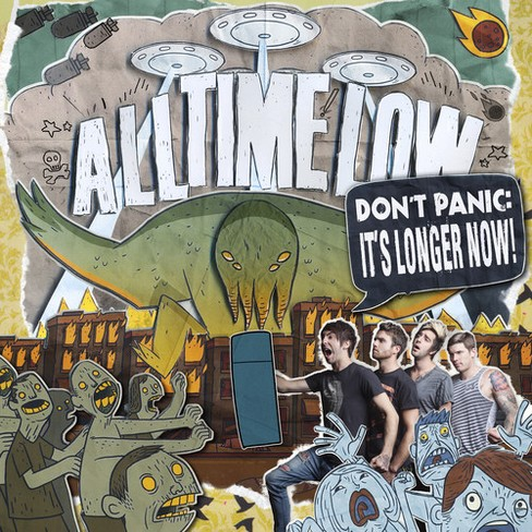 All time low - Don't panic:It's longer now (Vinyl) - image 1 of 1