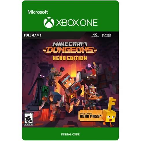 Minecraft Dungeons: Hero Edition Xbox One (digital) : Target