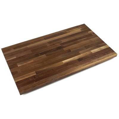 John Boos 60 x 38 x 1.5 inch Rectangular Blended Solid Walnut Butcher Block Cutting Board with Natural Oil Finish for Kitchen Counters or Island Tops