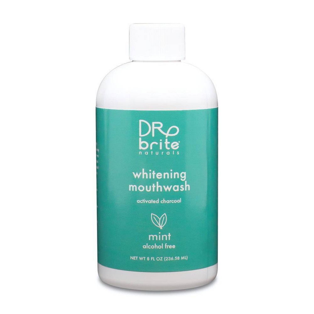 Image of Dr Brite Mint Cleansing Mouth Rinse 8oz