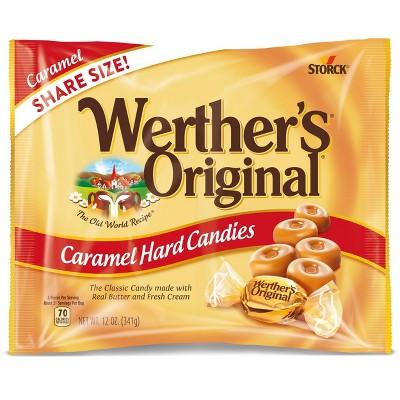Werther's Original Caramel Hard Candies - 12oz