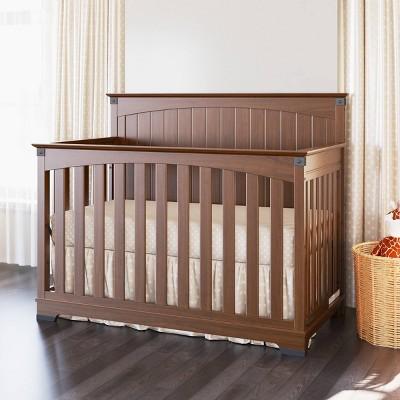 Child Craft Redmond Full Panel Crib - Coach Cherry