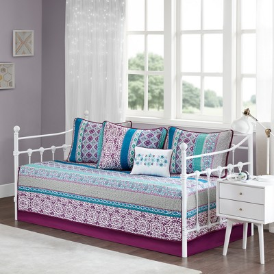 6pc Callie Daybed Set Purple