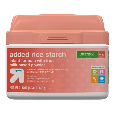 Baby Formula: up & up Added Rice Starch