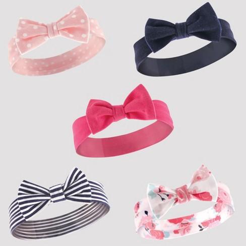 Hudson Baby Girls  5pk Headbands 7cf6917a446