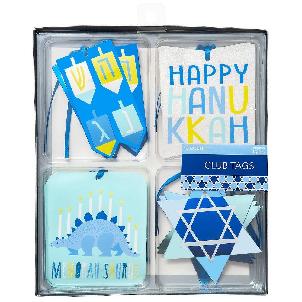 Image of Club Box Hanukkah Gift Tags