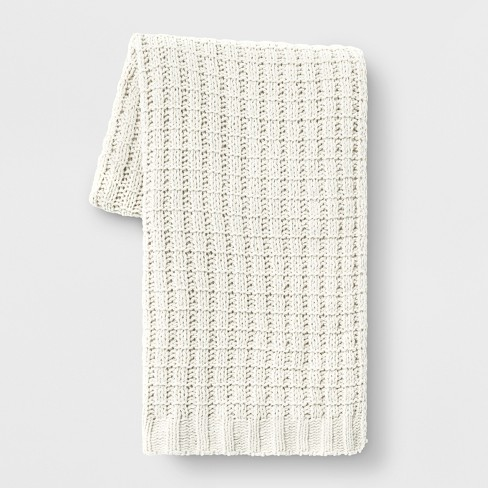 Chenille Throw Blanket - Threshold™ - image 1 of 1