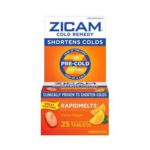 Zicam Quick Dissolve Tablets - Citrus - 25ct - image 1 of 4