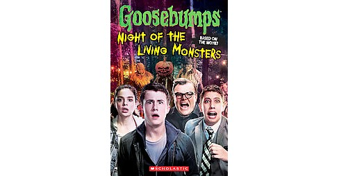 Night of the Living Monsters ( Goosebumps) (Paperback) by Kate Howard - image 1 of 1