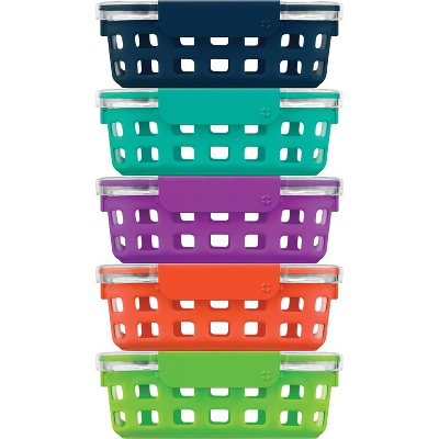 Ello 10pc Meal Prep Food Storage Container Set