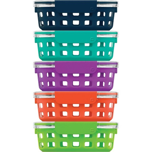 Ello 10pc Meal Prep Food Storage Container Set - image 1 of 4