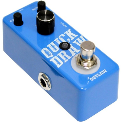 Outlaw Effects Quick Draw Guitar Delay Pedal - image 1 of 4