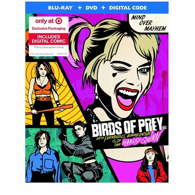 Birds Of Prey Target Exclusive Blu Ray Dvd Digital Target