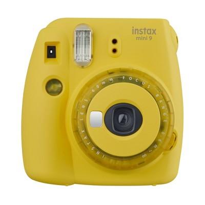Fujifilm Instax Mini 9 Camera - Yellow Clear