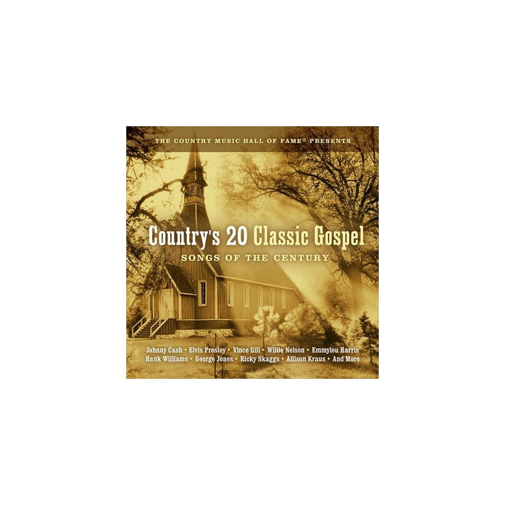 Various - Country's 20 Classic Gospel Songs Of (CD)