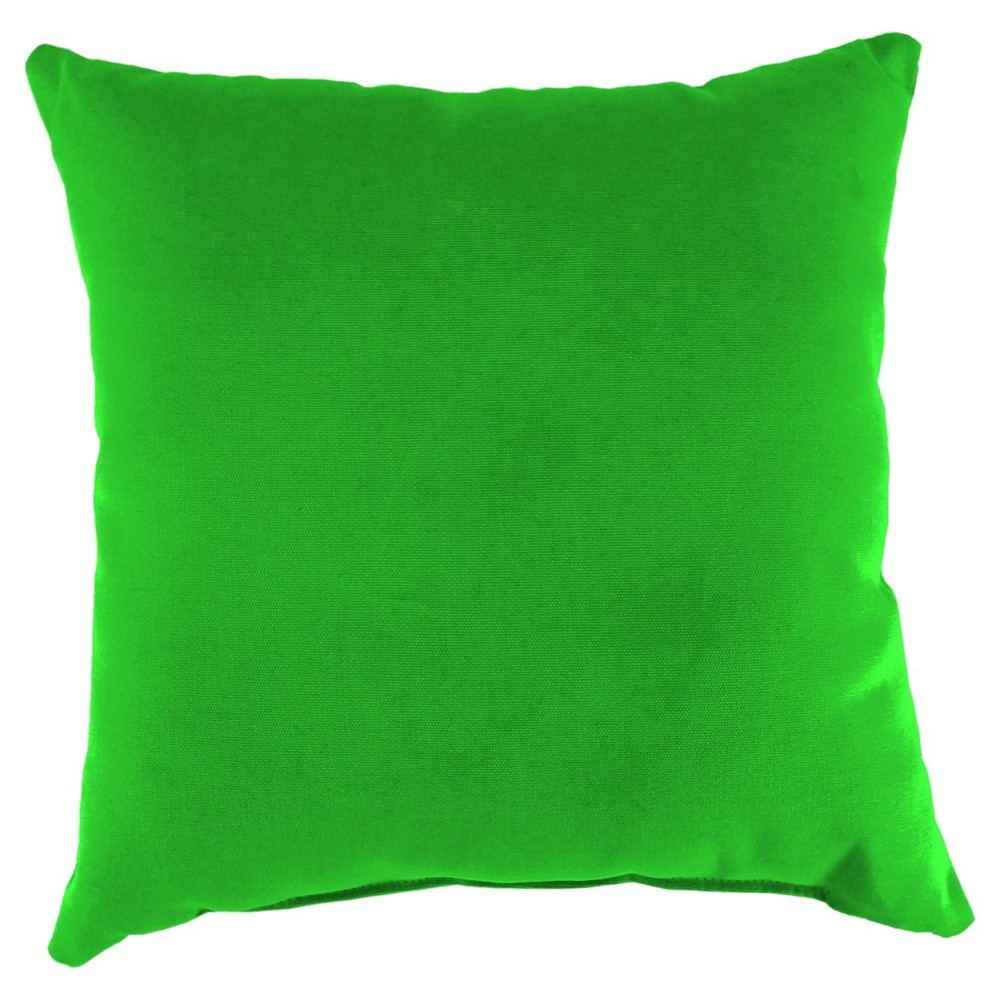 Jordan French Edge Outdoor Cushion - Sunburst Leaf