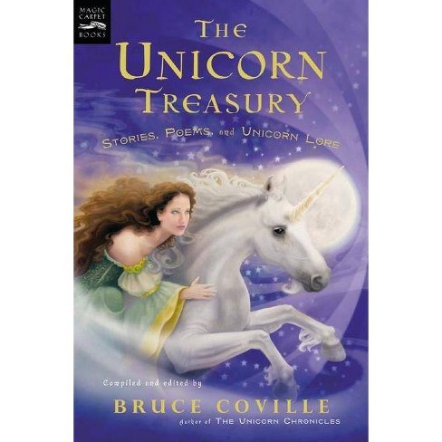 The Unicorn Treasury - (Magic Carpet Books) by  Bruce Coville (Paperback) - image 1 of 1