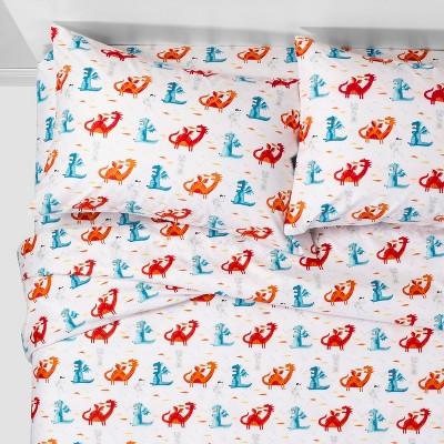 3pc Twin Dragon Dreams Microfiber Sheet Set - Pillowfort™