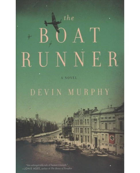 Boat Runner -  Large Print by Devin Murphy (Hardcover) - image 1 of 1