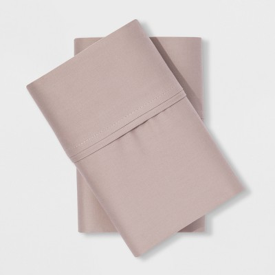 Performance Solid Pillowcase (Standard)Tahoe Khaki 400 Thread Count - Threshold™