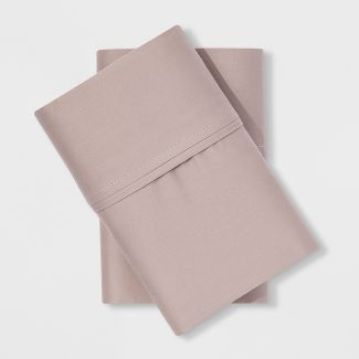 Performance Solid Pillowcase (Standard) Tahoe Khaki 400 Thread Count - Threshold™