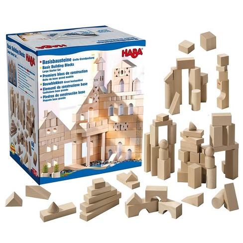 Haba Large Basic Building Blocks Starter Set - image 1 of 4