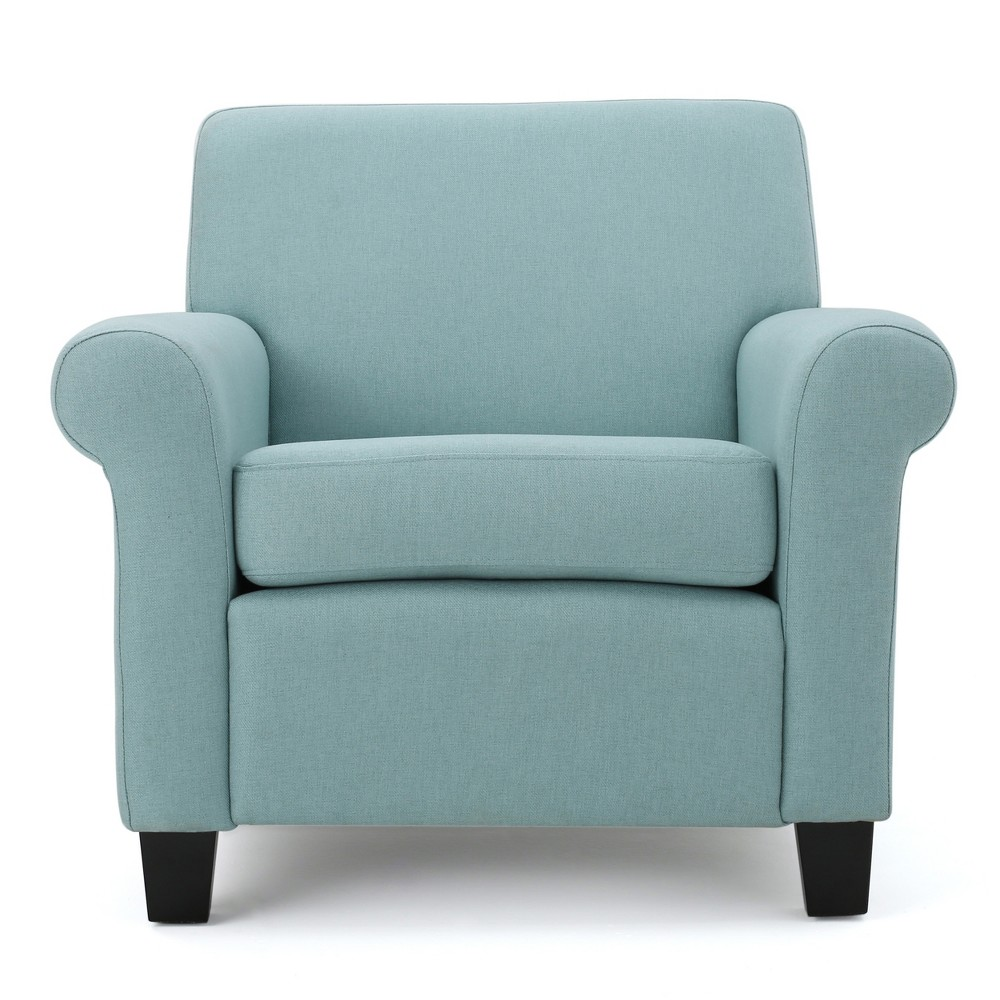 Yonkers Club Chair - Light Blue - Christopher Knight Home