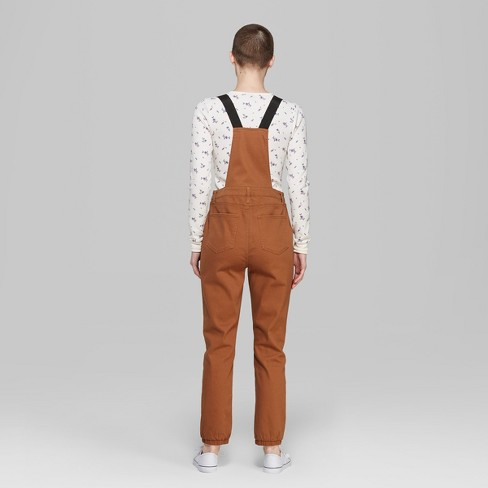 808dc7ec07 Women s Strappy Zip Front Overall Jumpsuit - Wild Fable™ Rust. Shop all Wild  Fable