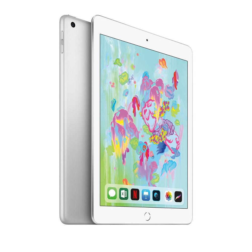 Apple iPad 9.7-inch 32GB Wi-Fi Only (2018 Model, 6th Generation, MR7G2LL/A) - Silver