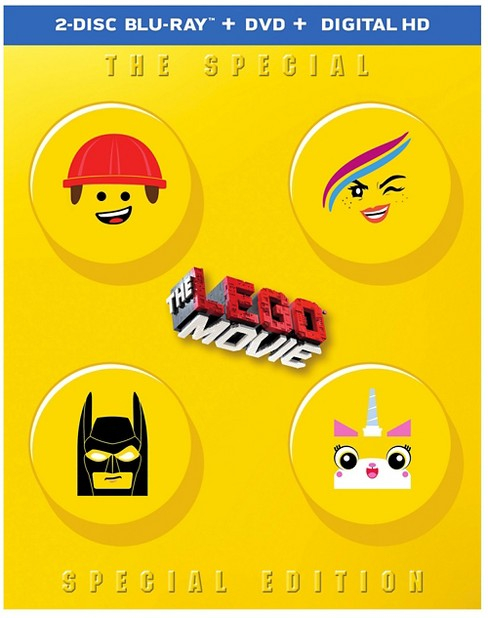 The Lego Movie (Blu-ray + DVD + Digital HD UltraViolet Combo Pack) - Target Exclusive - image 1 of 1
