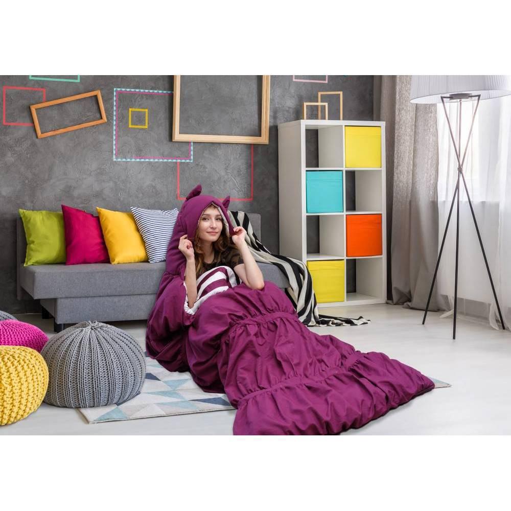 32 34 X75 34 Frankie Sleeping Bag Purple Chic Home Design